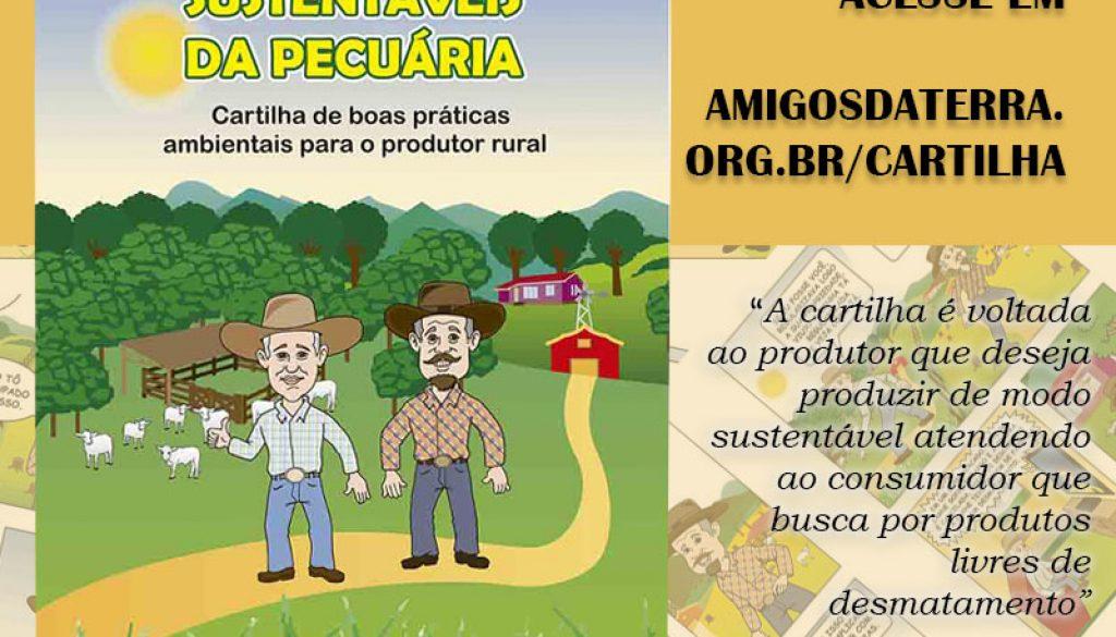 CARTILHA CAMINHOS SUSTENTÁVEIS PECUÁRIA.cdr